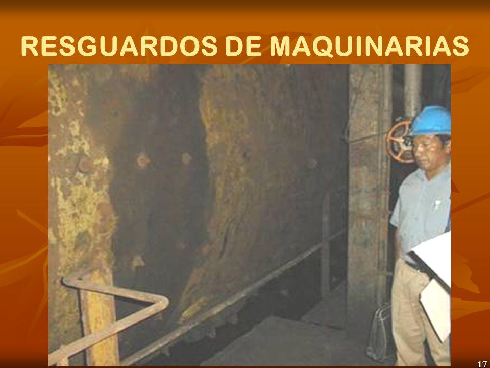 17 RESGUARDOS DE MAQUINARIAS