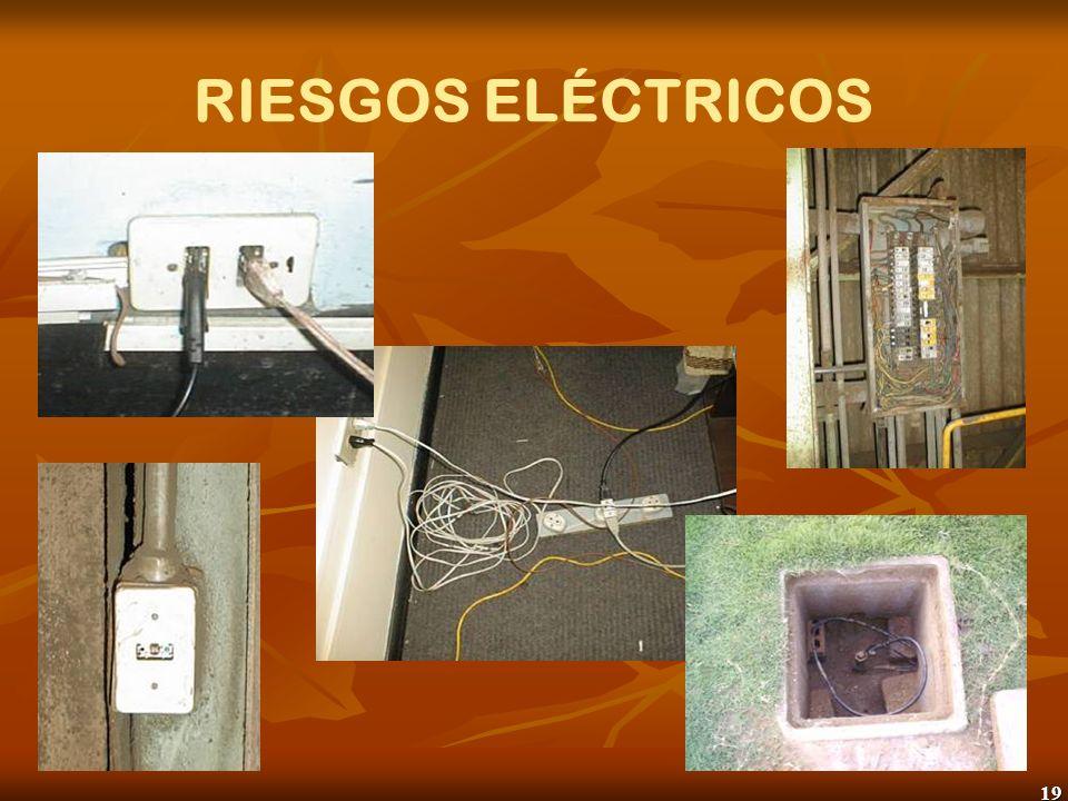 19 RIESGOS ELÉCTRICOS