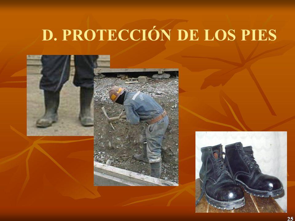 26 E. PROTECCIÓN DEL SISTEMA RESPIRATORIO