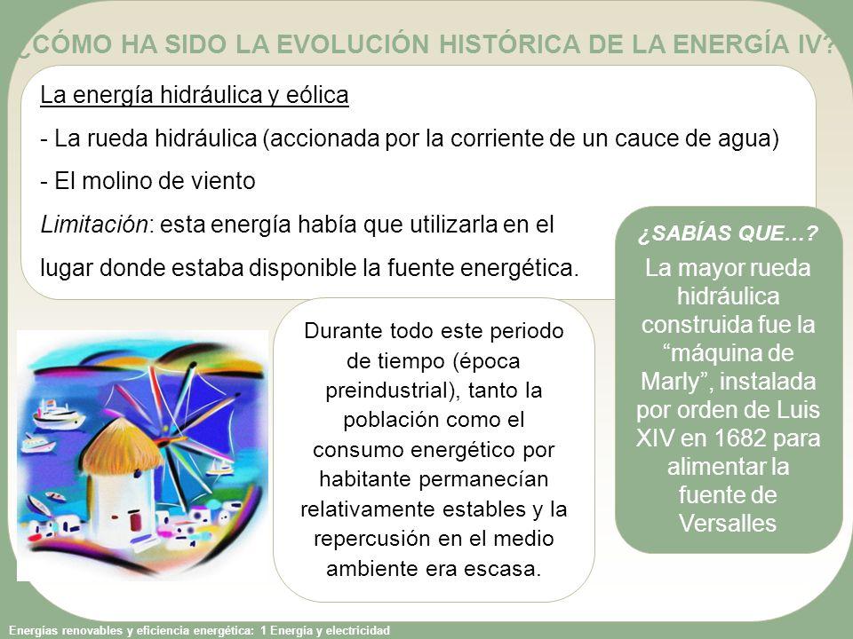 Energías renovables y eficiencia energética: 1 Energía y electricidad AGOTANDO LAS RESERVAS DE COMBUSTIBLE IV