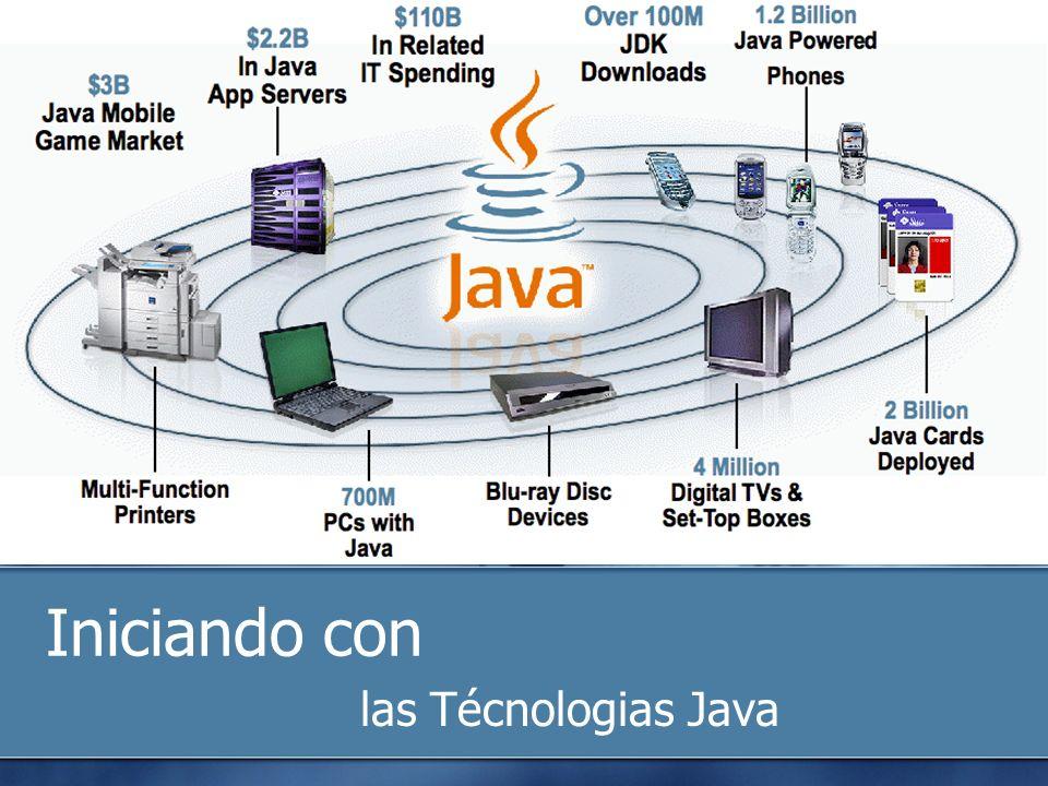 Iniciando con las Técnologias Java