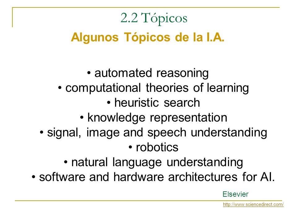 2.1 Conceptos Inteligencia Artificial - Problemas ¿Que Problemas son catalogados de Inteligentes? Respuesta: Son aquellos problemas intratables que pr