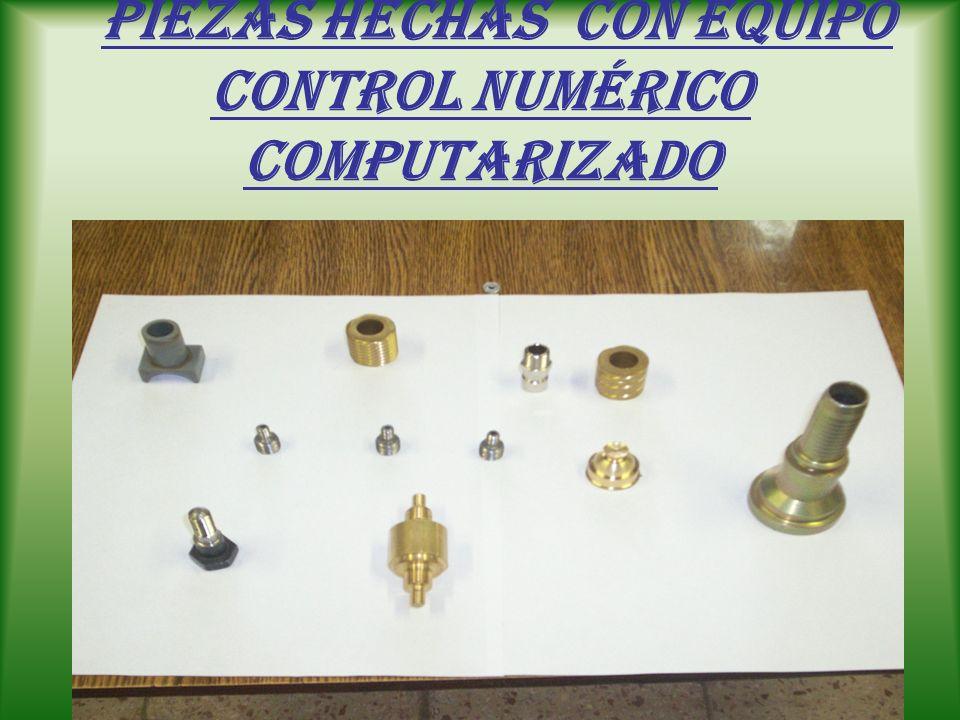 Equipos del laboratorio de control numérico