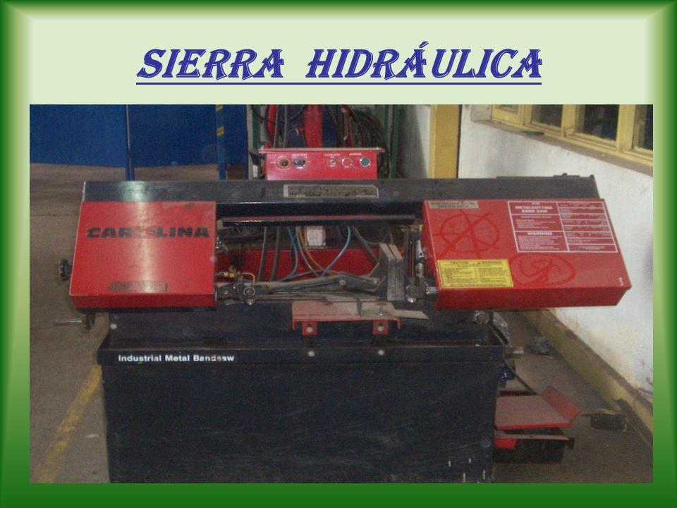 sierra mecánica