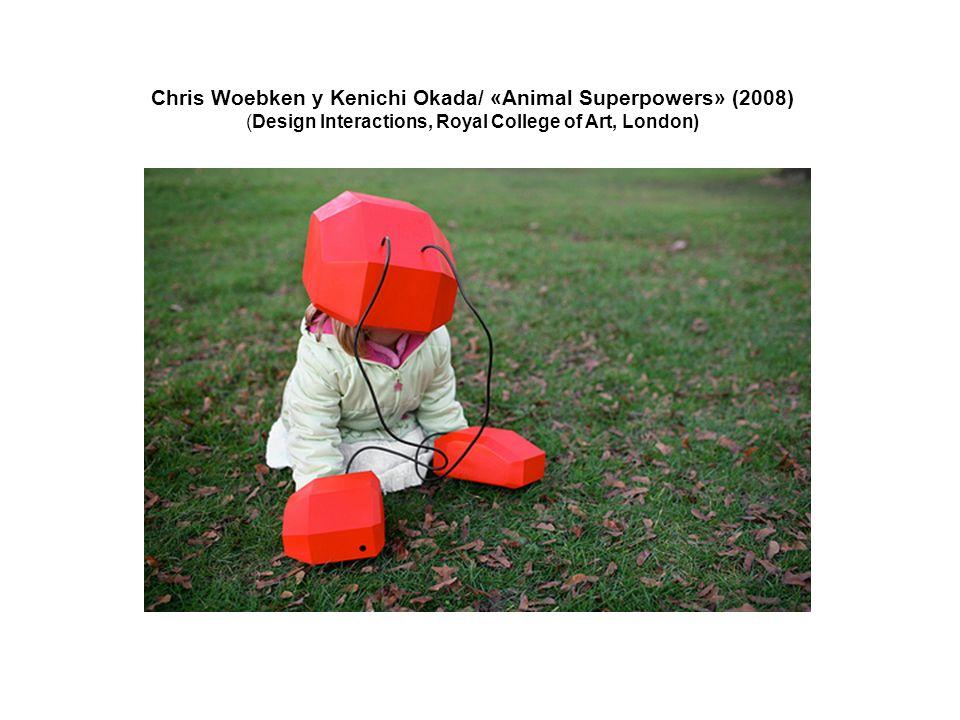 Chris Woebken y Kenichi Okada/ «Animal Superpowers» (2008) (Design Interactions, Royal College of Art, London)
