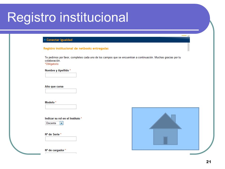Registro institucional 21