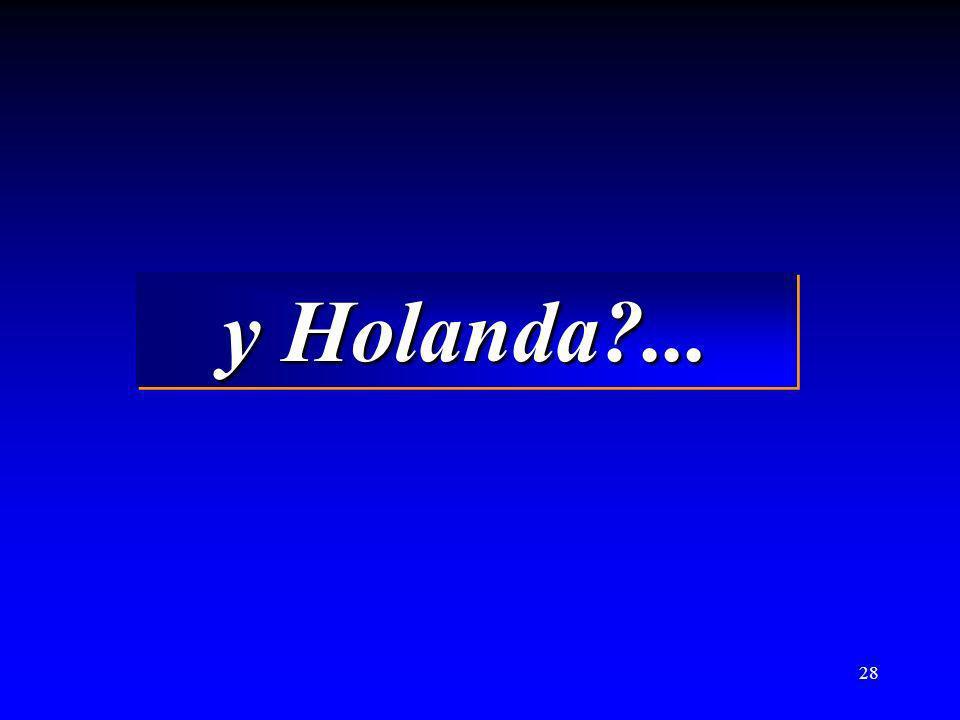 28 y Holanda?... y Holanda?...