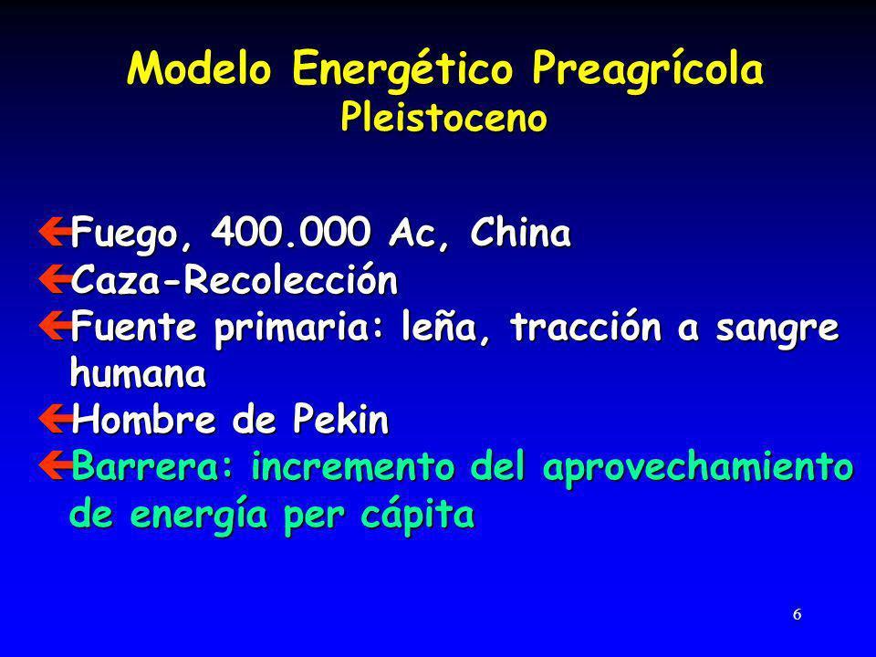47 ç La termodinámica no es una distracción de la física ç La energía depende de sus dos Principios (Conservación y Degradación)