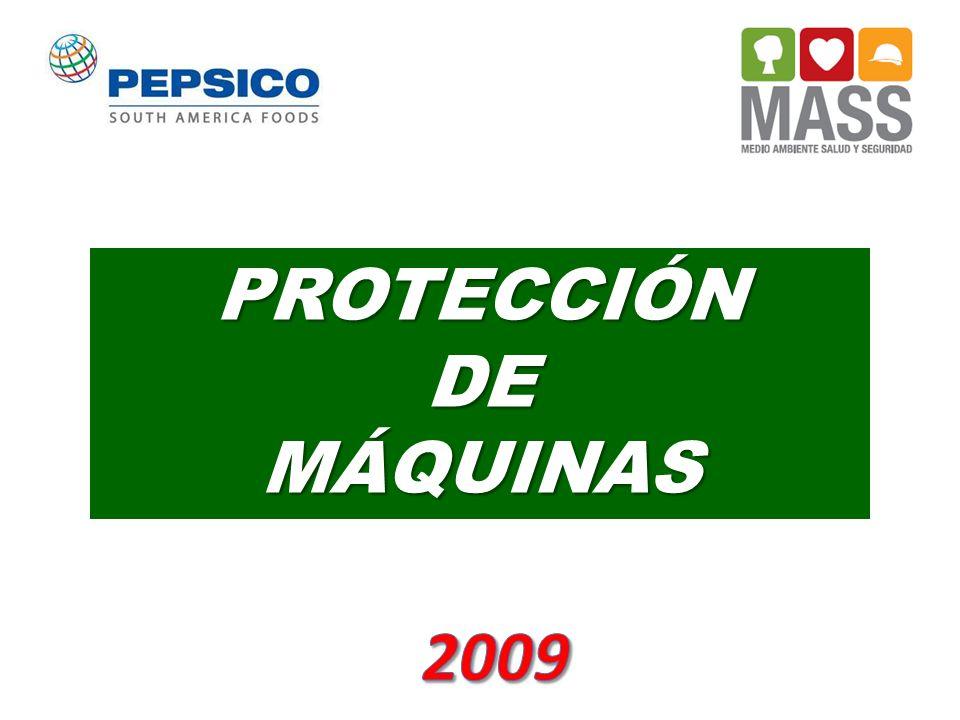 TIPOS DE PROTECCIONES Protecciones Fijas y Protección de Barrera Protecciones Fijas y Protección de Barrera Son los tipos más comunes de barrera utilizada y evitan cualquier contacto entre el operador y cualquier parte en movimiento de la máquina.