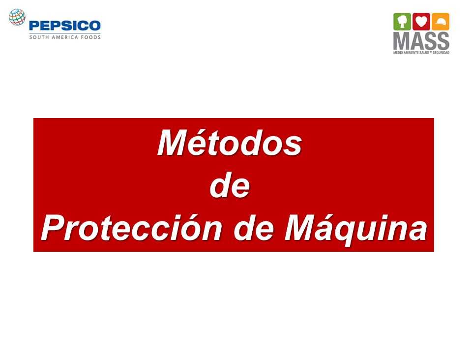Métodosde Protección de Máquina