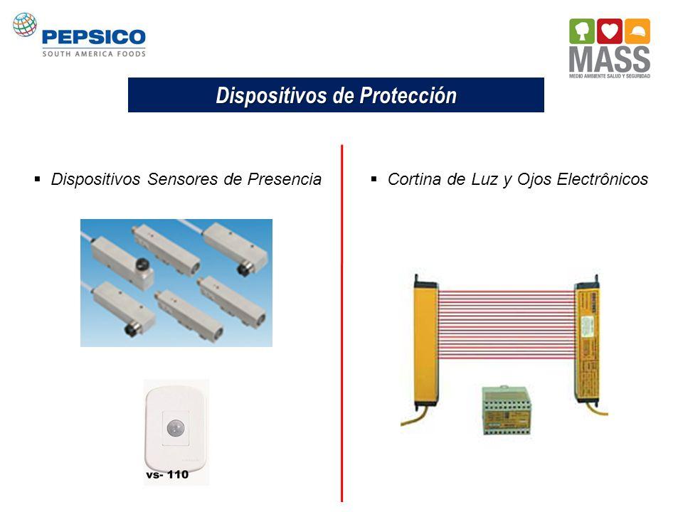 Dispositivos de Protección Dispositivos Sensores de Presencia Cortina de Luz y Ojos Electrônicos