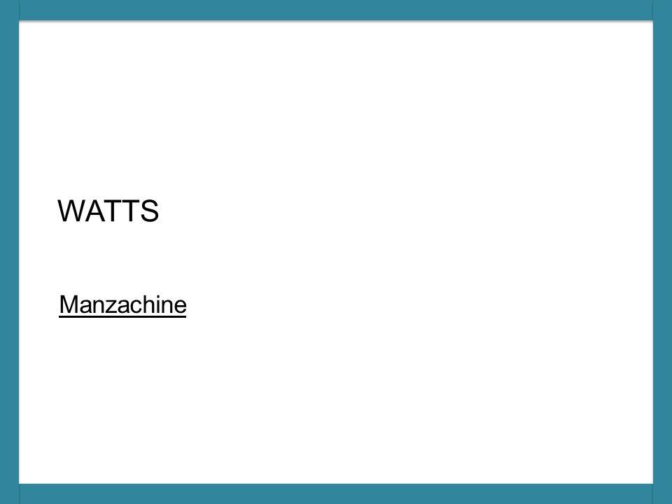 WATTS Manzachine