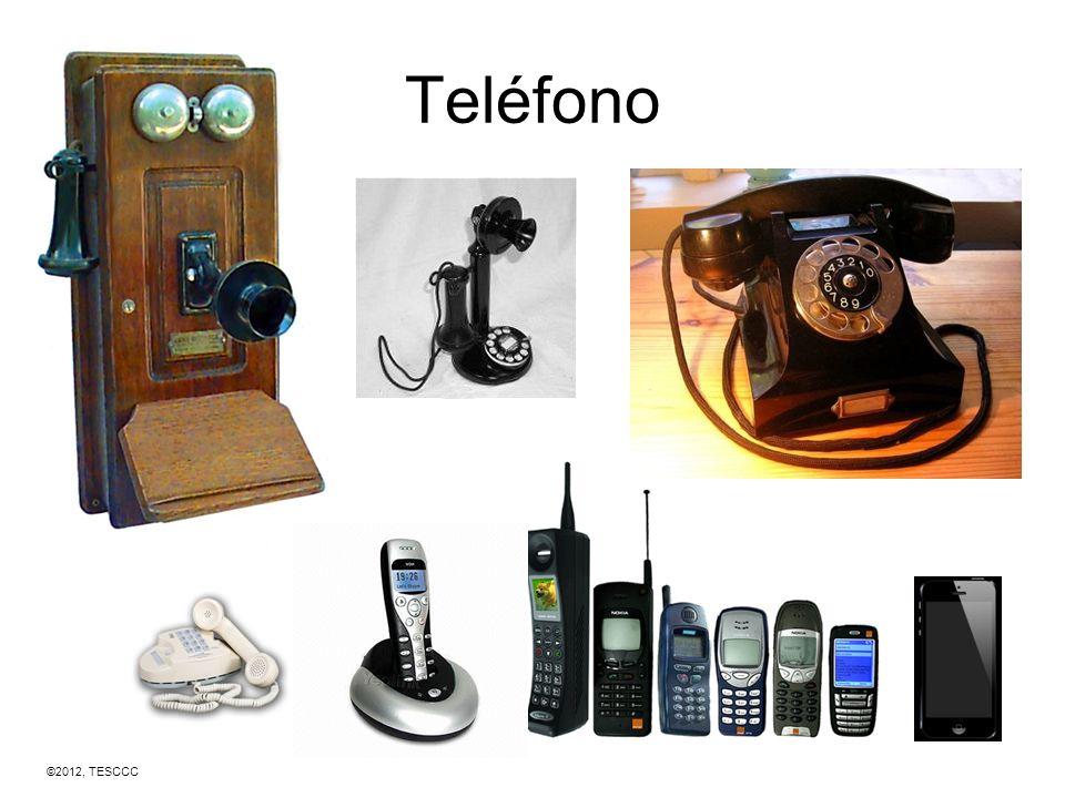 Teléfono ©2012, TESCCC