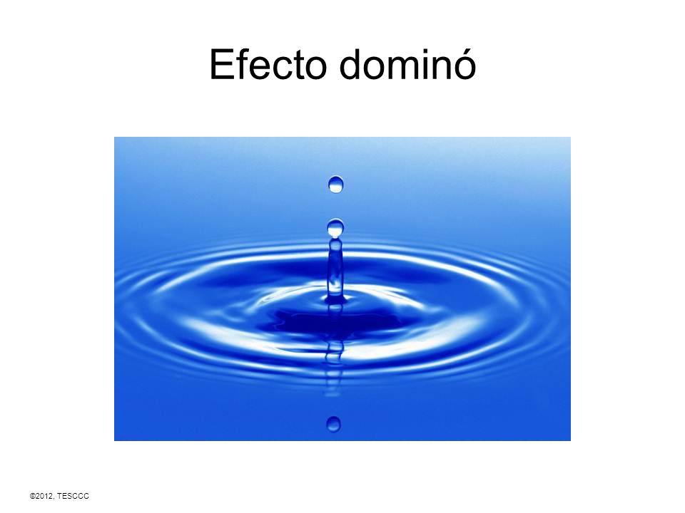 Efecto dominó ©2012, TESCCC