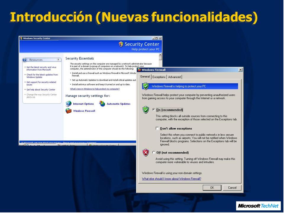 Protección de Red (Windows Firewall, Reducción de superficie de ataque en RPC)