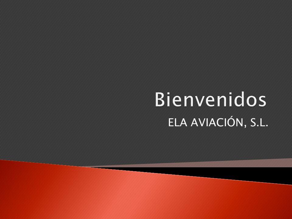 ELA Aviación, S.L.es una empresa dedicada a la fabricación y mantenimiento de aeronaves.