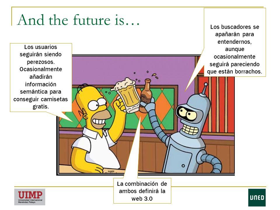 And the future is… Los usuarios seguirán siendo perezosos.