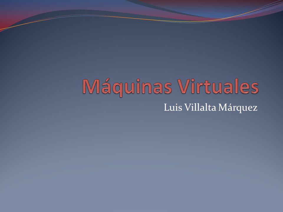 La Virtualización La virtualización consiste en emular una máquina o hardware por medio de software.