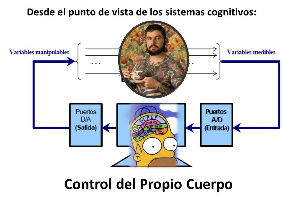 Control del Propio Cuerpo Desde el punto de vista de los sistemas cognitivos: