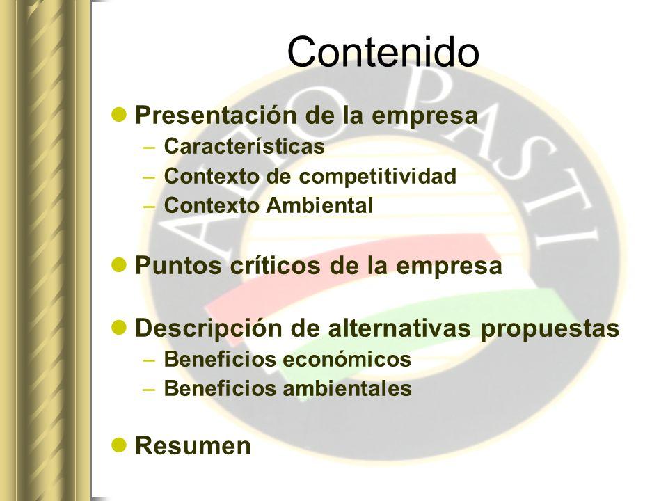 Presentación de la Empresa Empresa: ALTO PASTI S.A.