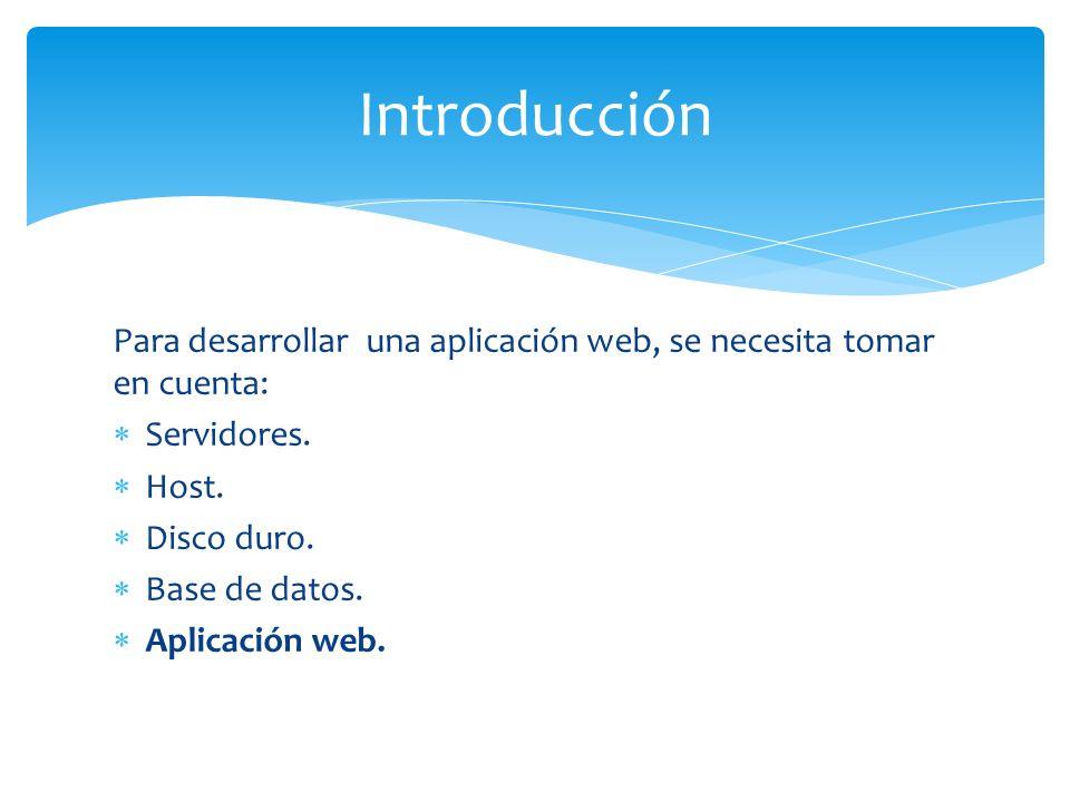 La idea de una plataforma de servicios web, es ofrecer al desarrollador la facilidad de concentrarse en la aplicación web, despreocupándose un poco de otros aspectos como hosting, servidores, etc.