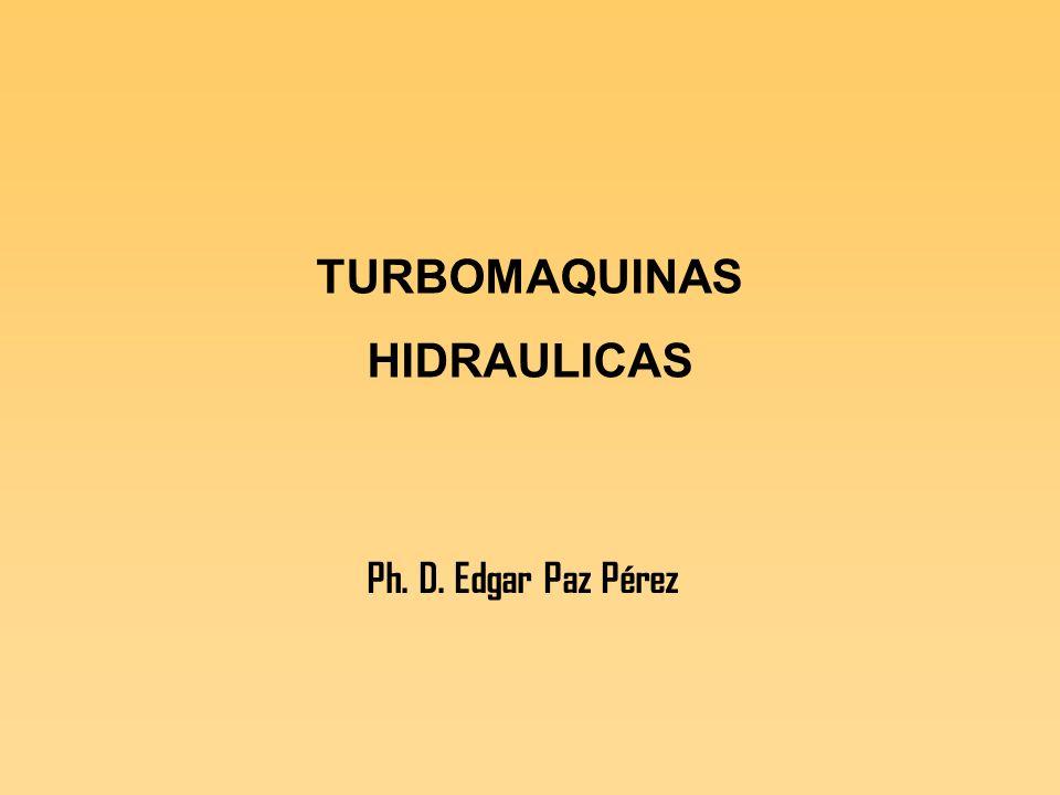 Clasificación de las turbinas hidráulicas según el grado de reacción Turbinas de acción Turbinas de reacción.