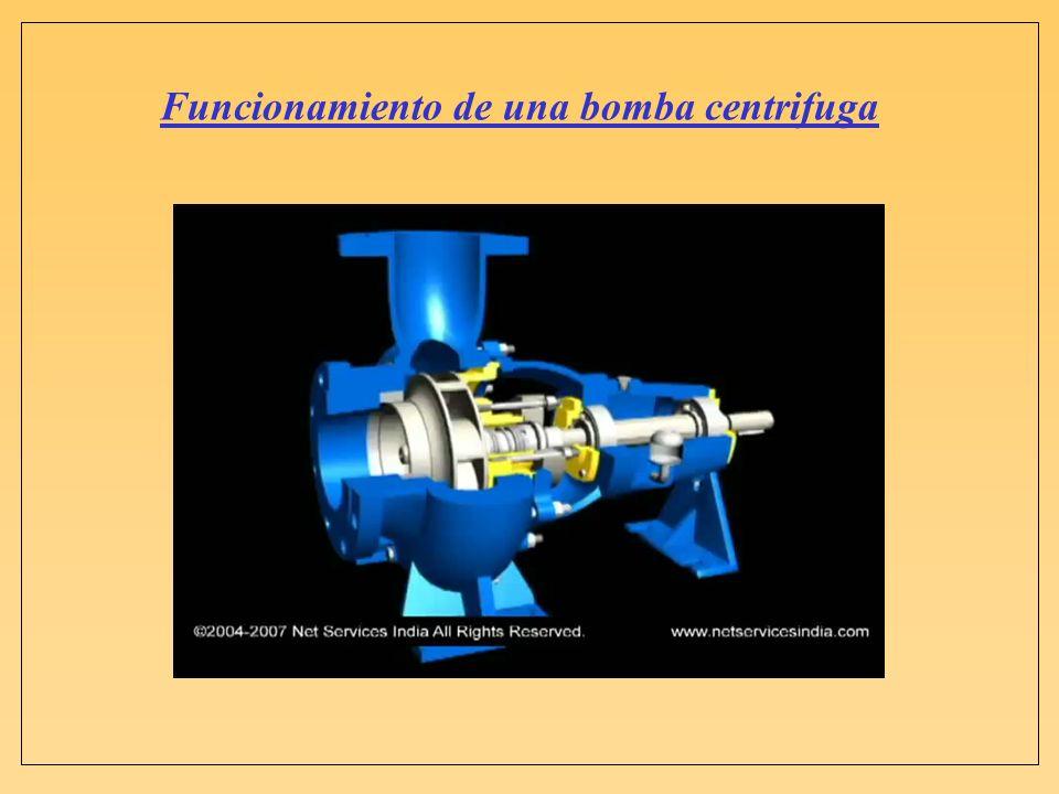 Funcionamiento de una bomba centrifuga VIDEO