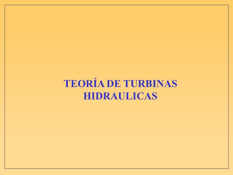 TEORÍA DE TURBINAS HIDRAULICAS