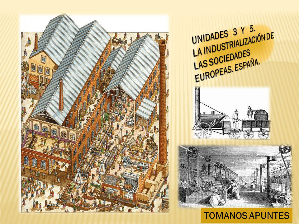 La llamada Revolución Industrial presenta matices: - Ciertamente no había ocurrido nada igual desde el Neolítico.