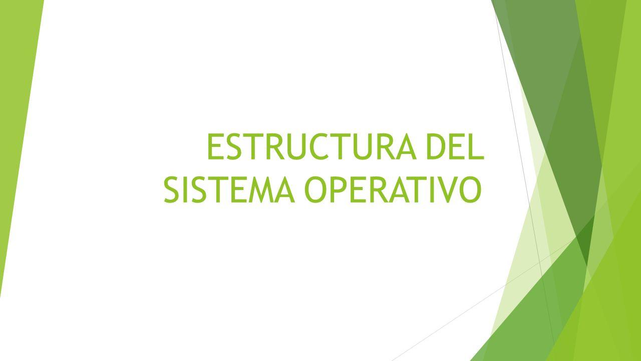 SERVICIOS DEL SISTEMA OPERATIVO INTERFAZ DEL USUARIO EJECUCION DE PROGRAMAS OPERACIONES DE E/S MANIPULACION DE SISTEMA DE ARCHIVOS COMUNICACIONES DETECCION DE ERRORES.