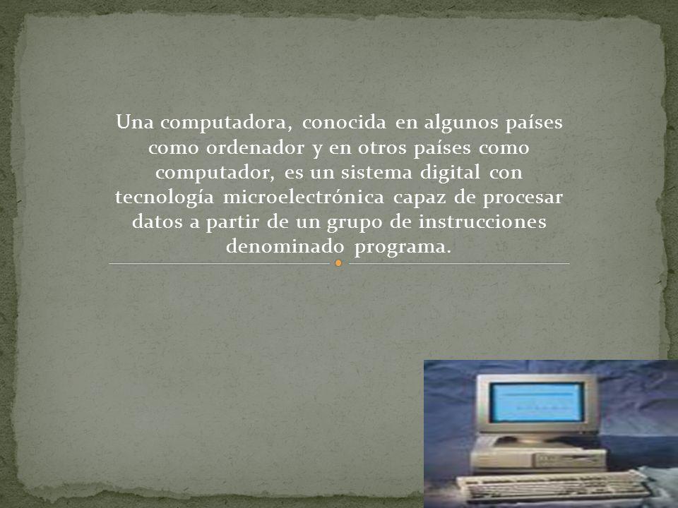 Primera Generación (1945-1956) La computadora fue utilizada para fines militares durante la Seguna Guerra Mundial.