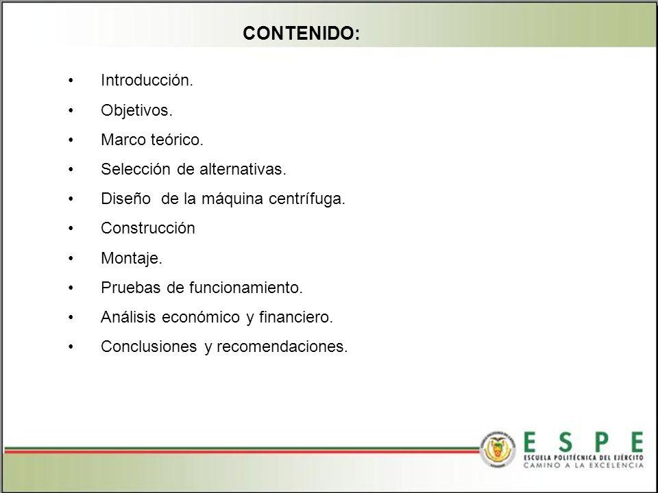 PRUEBAS DE FUNCIONAMIENTO SISTEMA DE EXTRACCIÓN Los parámetros de extracción se detallan en la siguiente tabla.