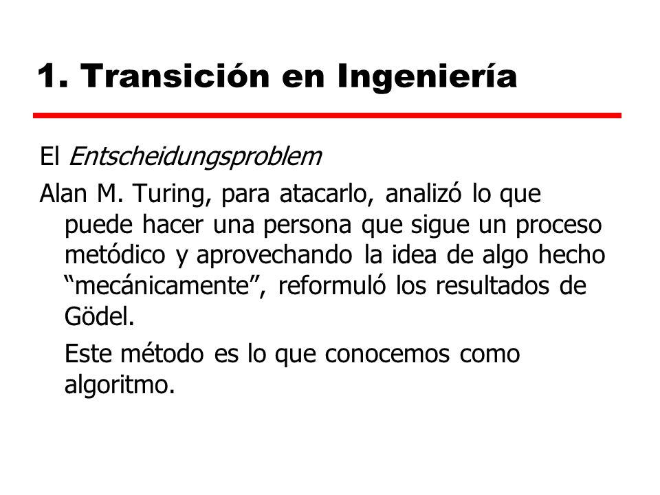 1.Transición en Ingeniería El Entscheidungsproblem Alan M.