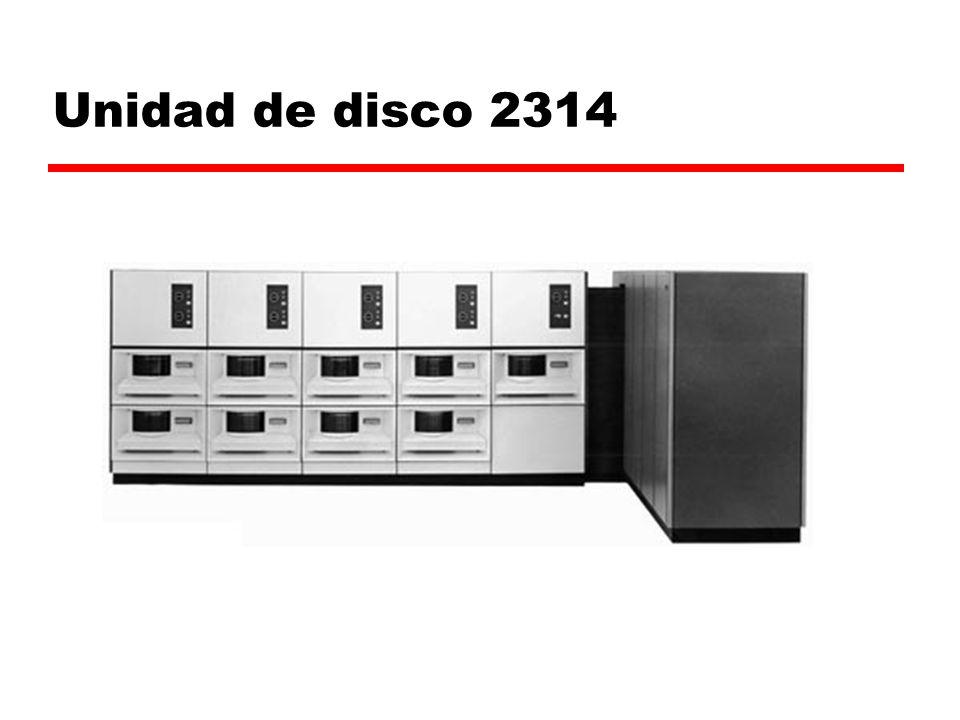 Unidad de disco 2314