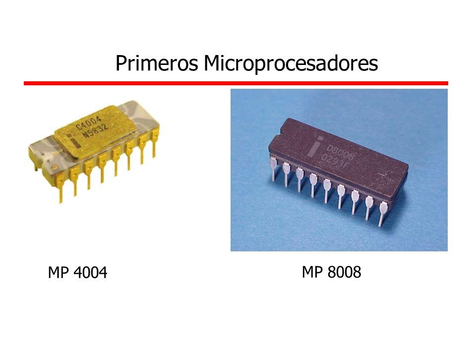 MP 4004 MP 8008 Primeros Microprocesadores