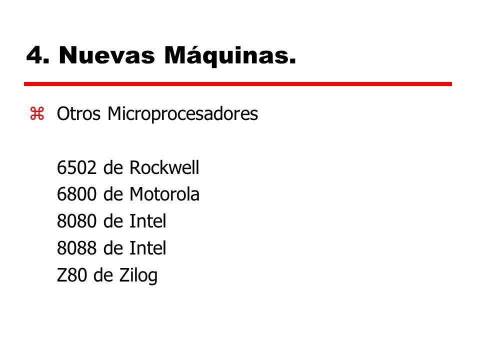 4.Nuevas Máquinas.