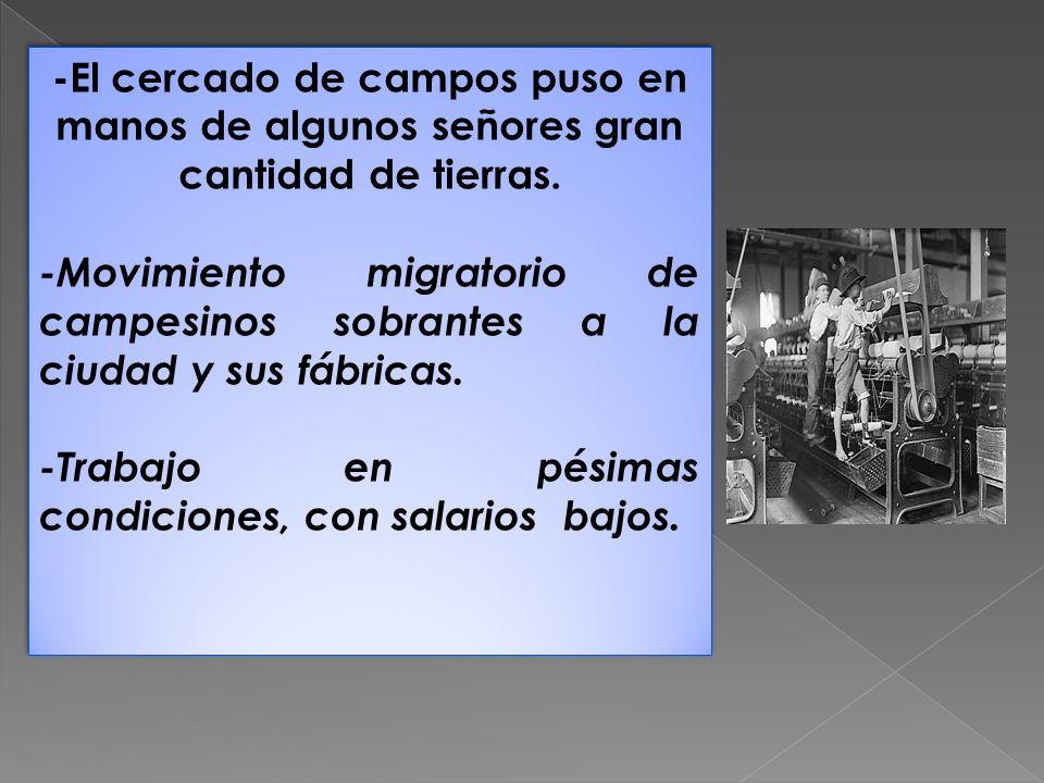 c) LA REVOLUCIÓN DE LOS TRANSPORTES.* Construcción de red de carreteras y canales.