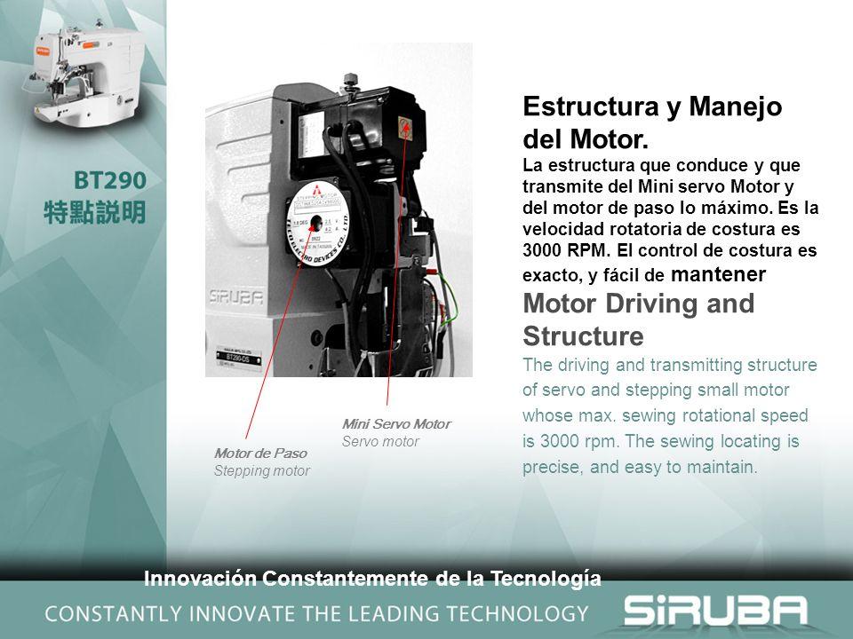 Estructura y Manejo del Motor.