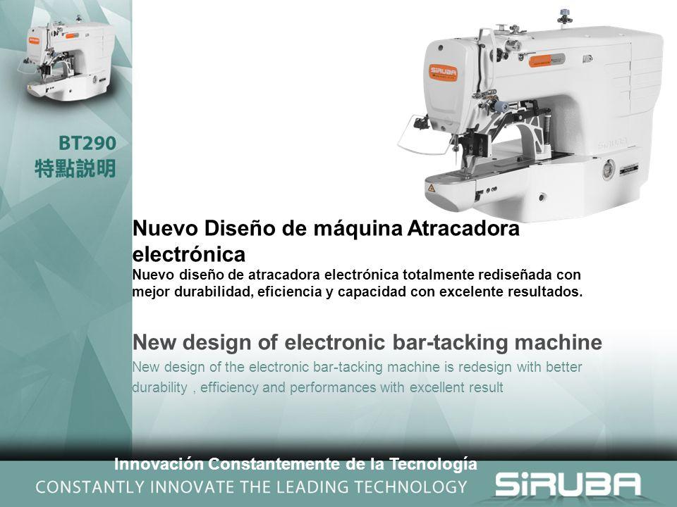 Nuevo Diseño de máquina Atracadora electrónica Nuevo diseño de atracadora electrónica totalmente rediseñada con mejor durabilidad, eficiencia y capacidad con excelente resultados.