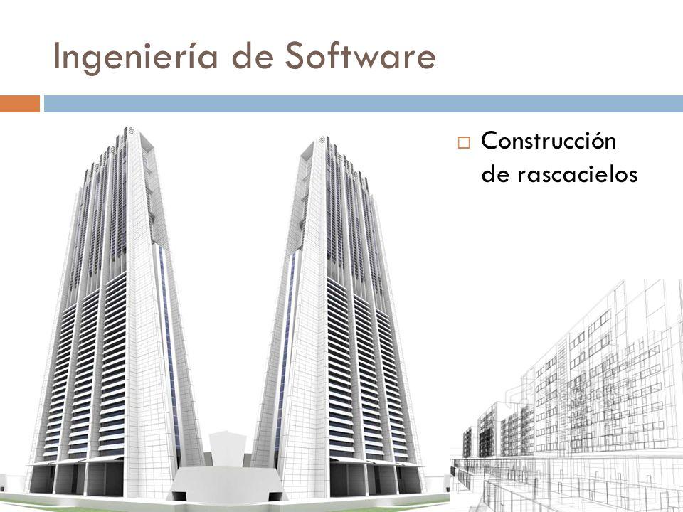 Ingeniería de Software Construcción de rascacielos