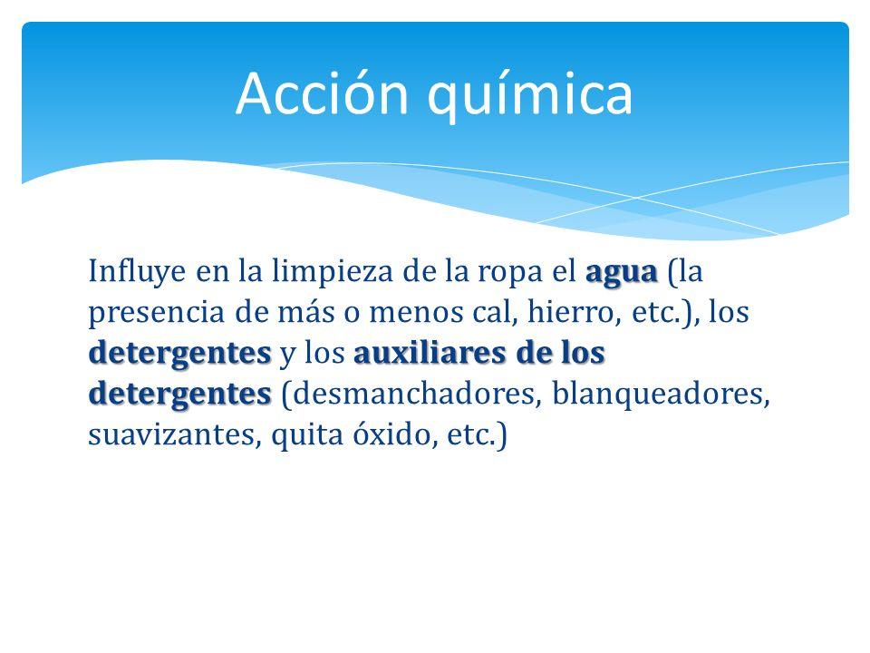 Estructuralmente un detergente está formado por dos partes: la materia activa y el relleno.