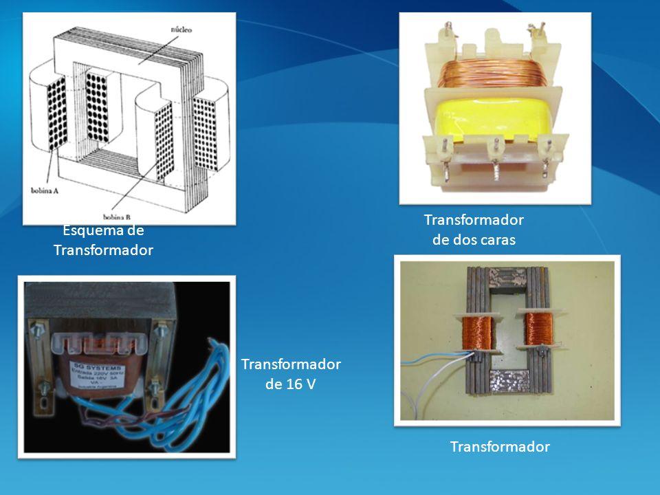 Esquema de Transformador Transformador de dos caras Transformador de 16 V Transformador