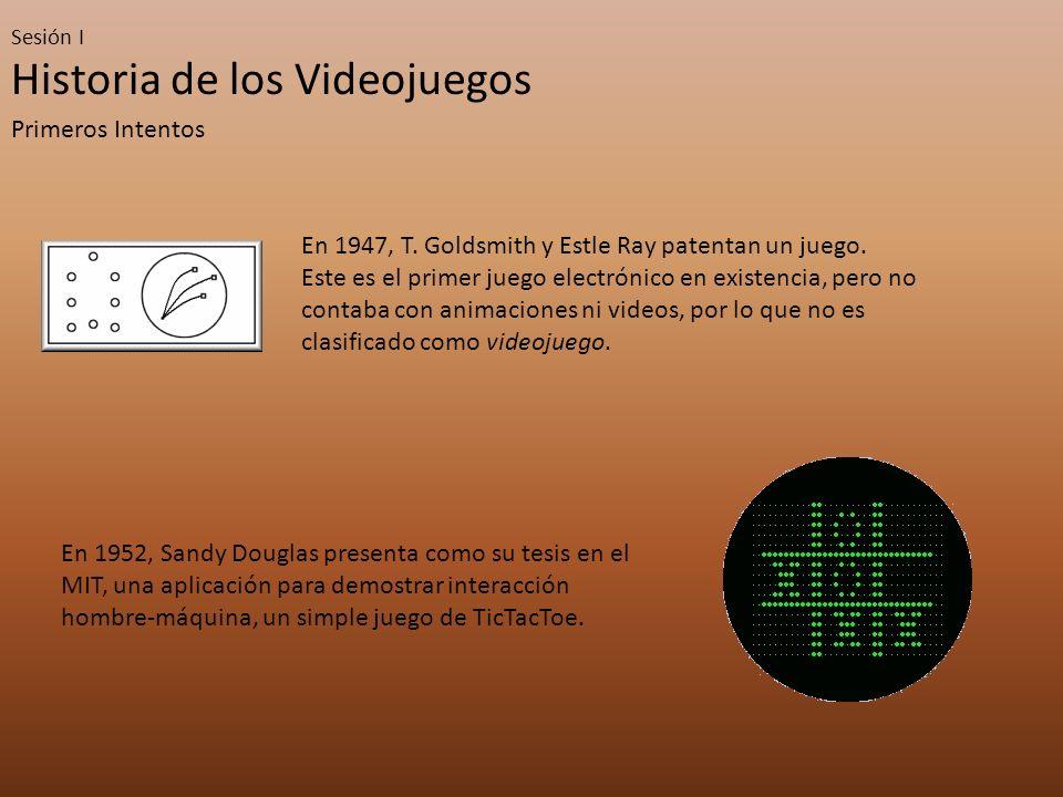 Sesión I Historia de los Videojuegos Las Consolas – Tercera Generación: Los 8 bits La tercera generación se caracterizó por ser la que siguió a la crisis de 1983.