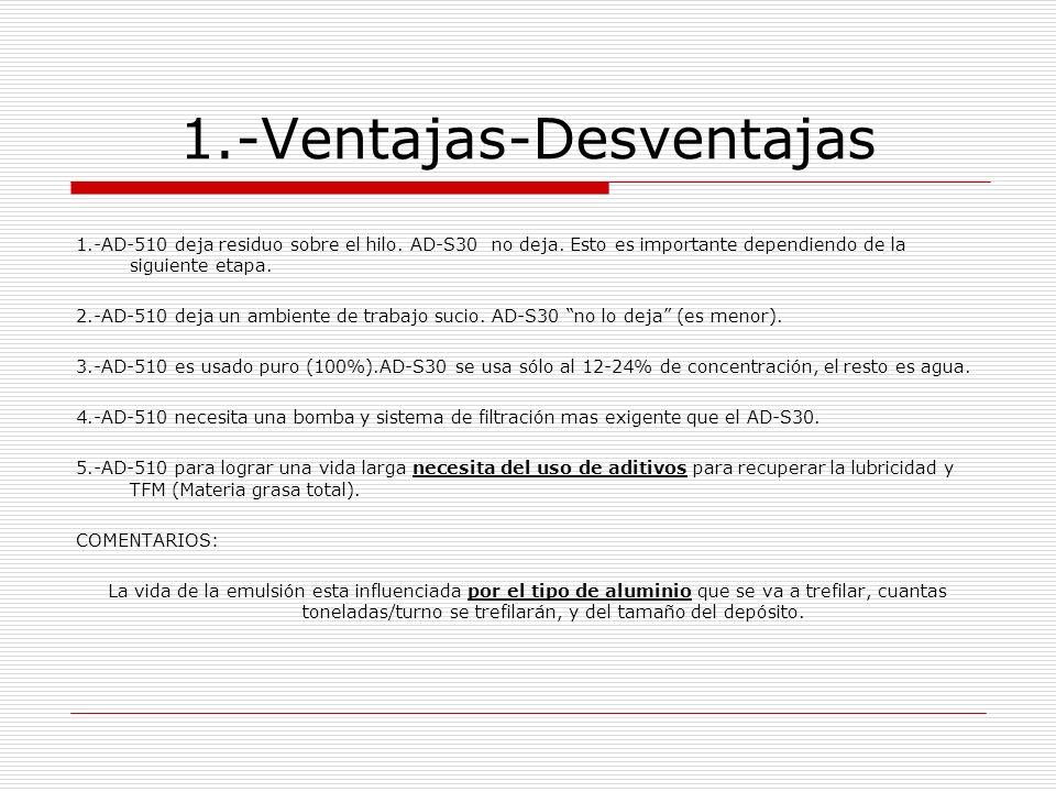 1.-Ventajas-Desventajas CASO ALCAN: Es uno de los mas grandes trefiladores de aluminio.