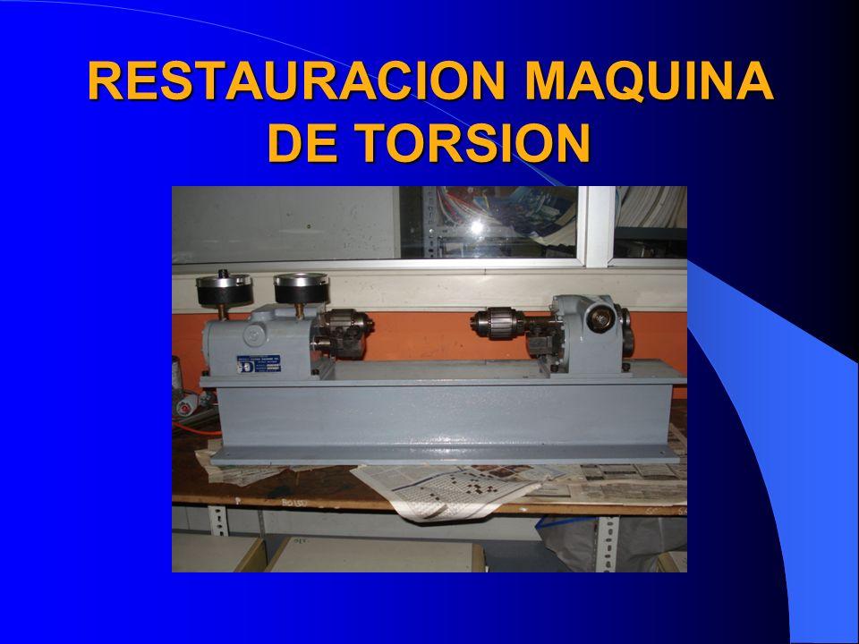 Estado en el que se encontraba y refacciones La maquina se encontraba en un depósito en desuso.