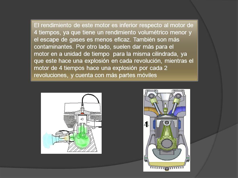 Los componentes más importantes en el funcionamiento y rendimiento del motor son: * La energía que debe ser entregada en el momento justo (punto) * Los platinos le entregan la energía a la bujía * La bobina le entrega la energía a los platinos y estos a su vez a la bujía.