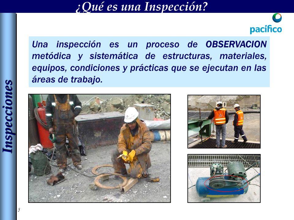 16 1.Planeamiento y preparación.2.Realización de la inspección.