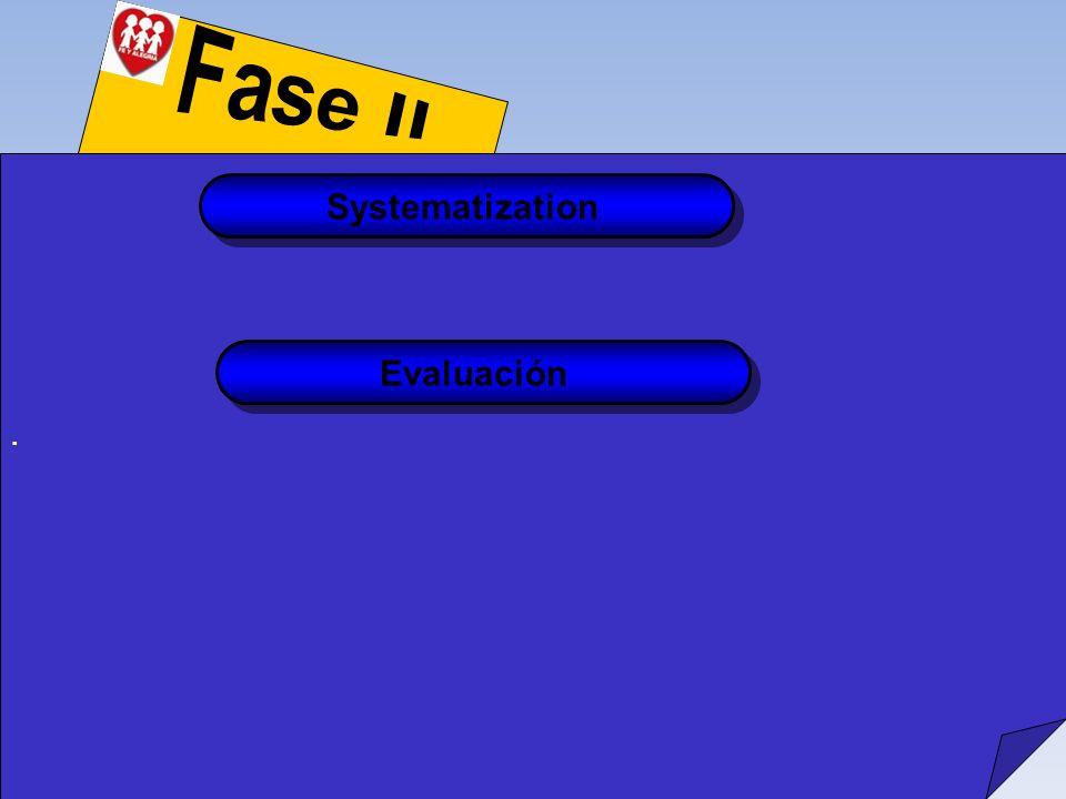 . Systematization Evaluación