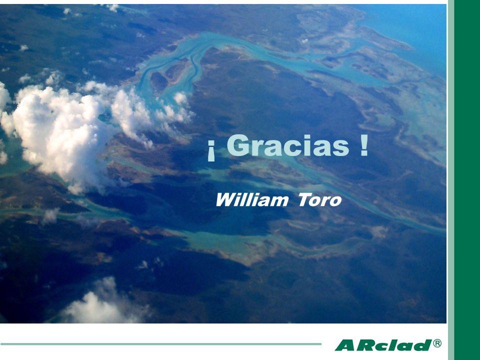 ¡ Gracias ! William Toro