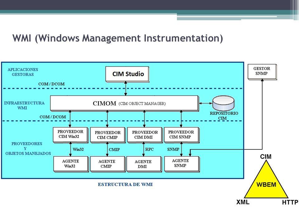 WMI (Windows Management Instrumentation)